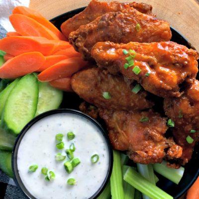 Crispy Air Fryer Chicken Wings