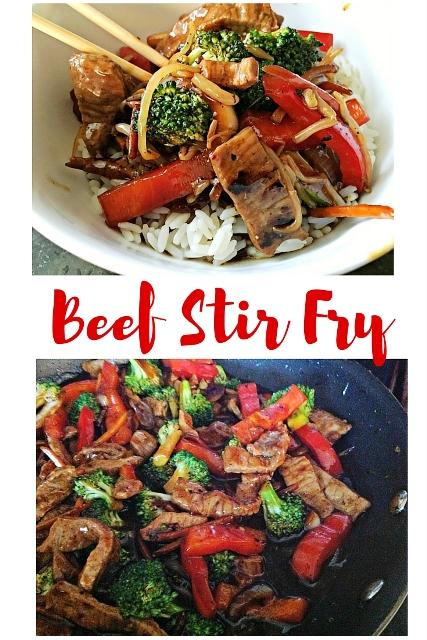 beef stir fry