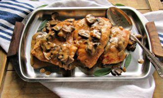 easy chicken dijon
