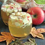 apple cider honey crisp sangria