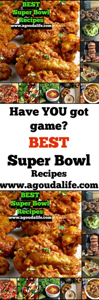Best Super Bowl Recipes from appetizers to easy main dishes guests can serve themselves to tasty desserts. May the best dish, er team win!