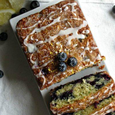 Lemon Blueberry Zucchini Bread