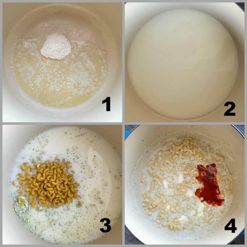 4 step process shots how to make this dish