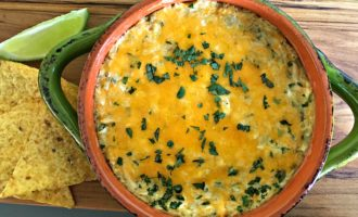chicken salsa verde dip recipe