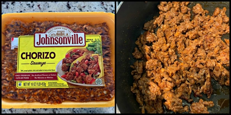 johnsonville chorizo sausage