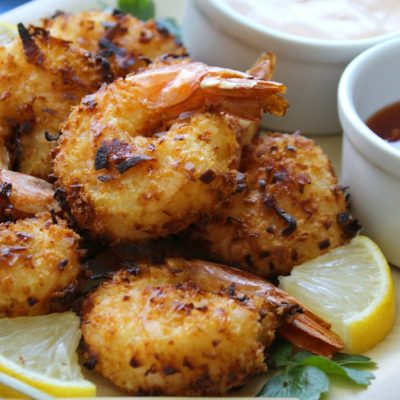 Air Fryer Coconut Shrimp