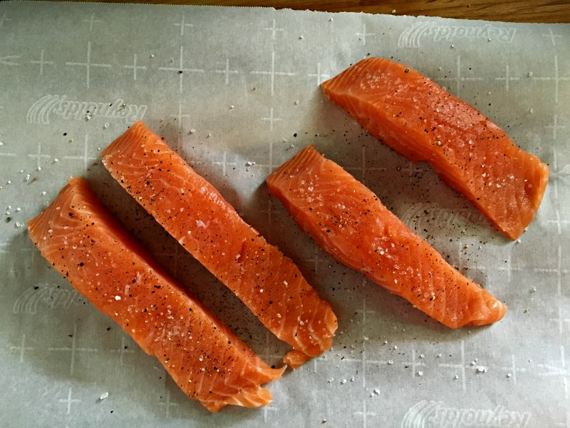 crispy salmon recipe