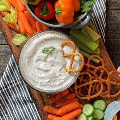 Easy Dill Dip with Greek Yogurt