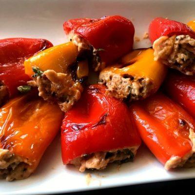 Fiesta Stuffed Mini Peppers