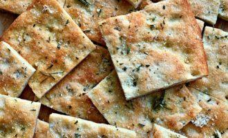 focaccia bread recipe with fresh rosemary
