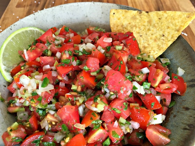 fresh tomato salsa 8