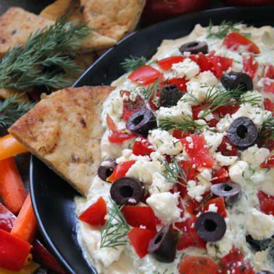 Greek Layered Appetizer Dip