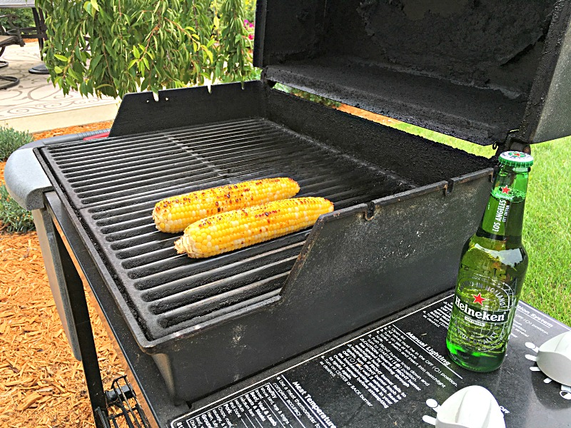 grilling corn without the husk