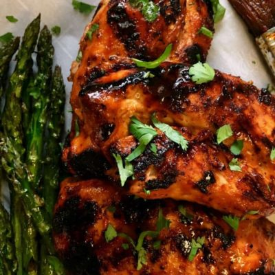 Grilled Honey Sriracha Chicken
