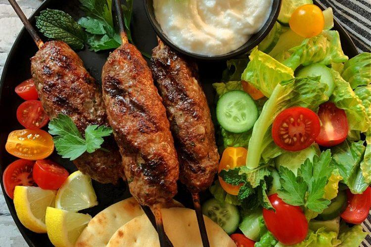 Grilled Kofta Kabobs
