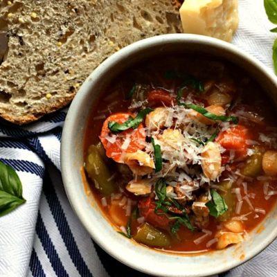 Minestrone Italian Sausage Soup