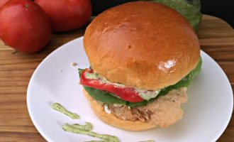 Chicken Pesto Sandwich. Certainly the easiest and maybe the best sandwich...ever.