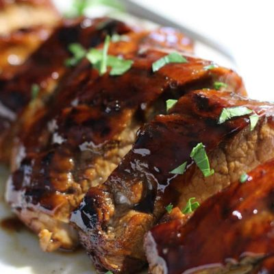 Honey Balsamic Pork Tenderloin