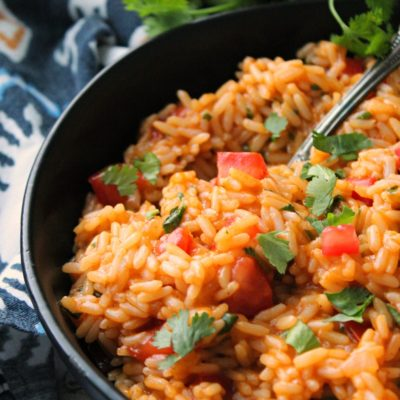 5 Ingredient Spanish Rice