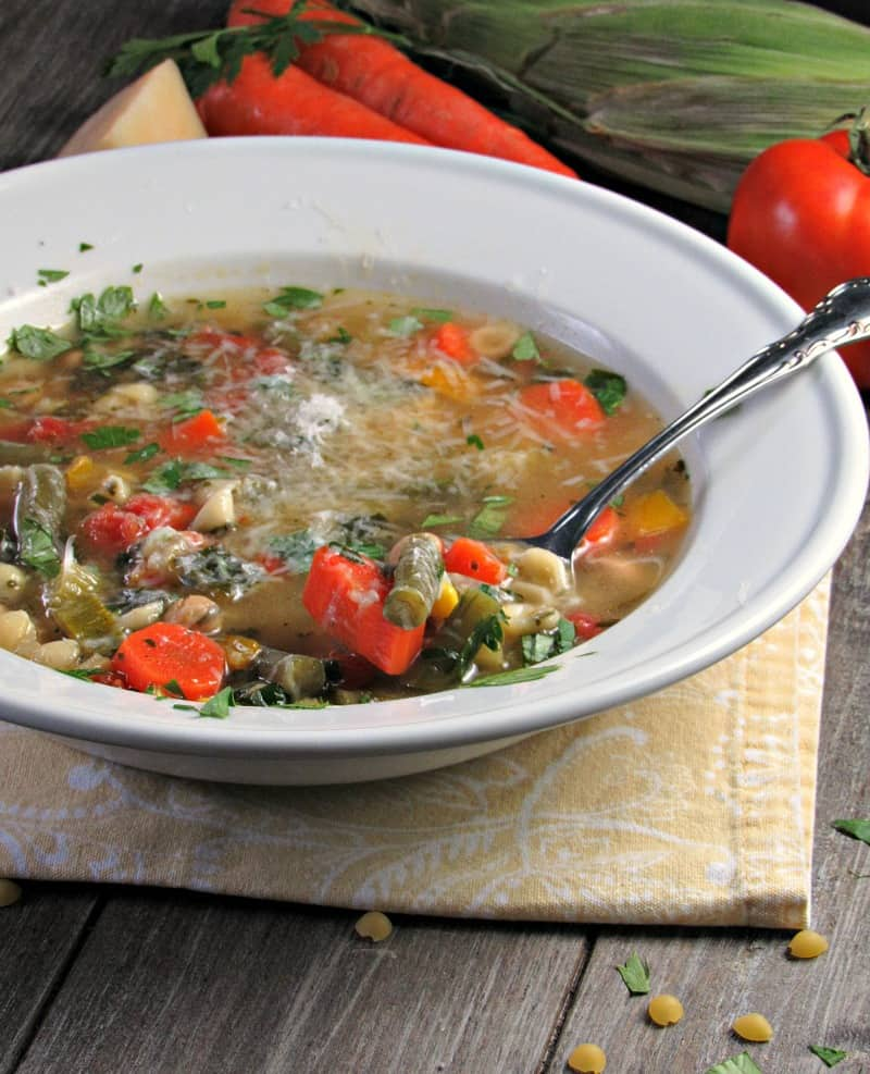 Summer Vegetable Soup: A Bowl Of Summer Flavor