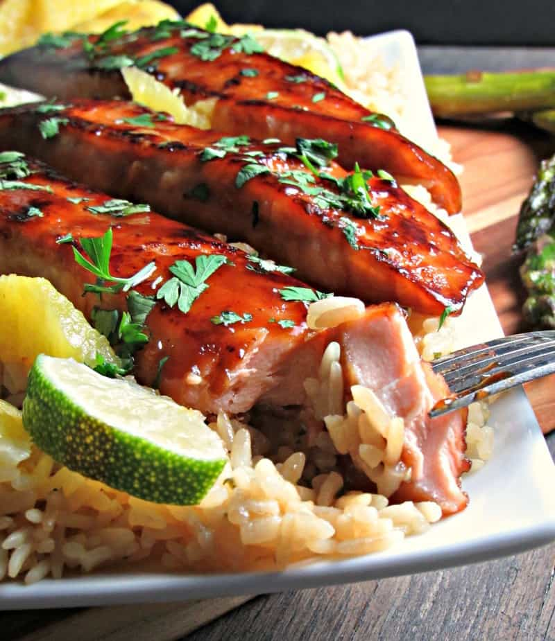honey teriyaki salmon recipe A Gouda Life