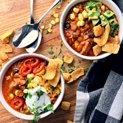 Turkey Lentil Chili