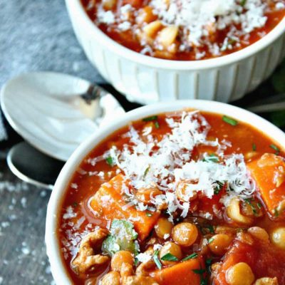 Turkey and Lentil Soup