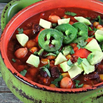 Tex Mex Veggie Chili